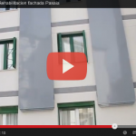 Video de la obra de rehabilitación de fachada en Pasaia