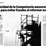 Competencia alerta sobre fraudes en rehabilitación de viviendas