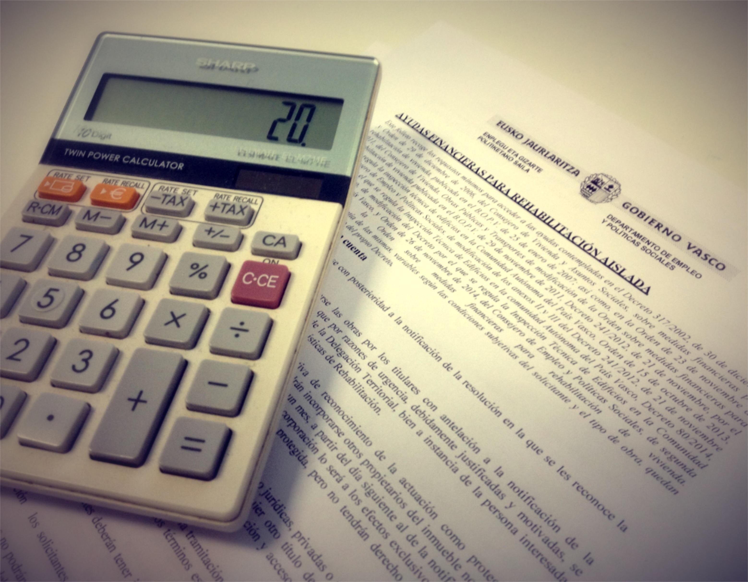 ayudas del gobierno vasco en rehabilitacion prestamos